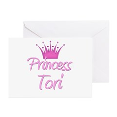 Princess Tori Greeting Cards (Pk of 10)