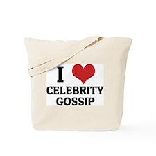 I Love Celebrity Gossip Tote Bag