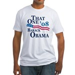 """That One"" Obama Fitted USA T-Shirt"