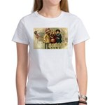 Ice Skate Christmas Women's T-Shirt