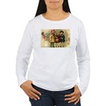 Ice Skate Christmas Women's Long Sleeve T-Shirt