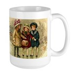 Ice Skate Christmas Large Mug