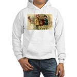 Ice Skate Christmas Hooded Sweatshirt