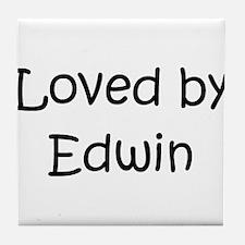 Unique Edwin Tile Coaster