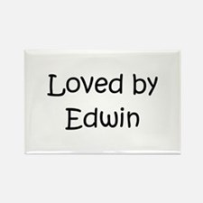 Cute Edwin Rectangle Magnet