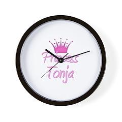 Princess Tonja Wall Clock