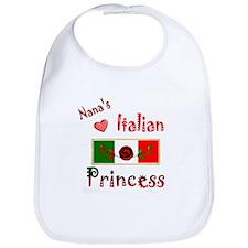 Nana's Italian Princess-3 Bib