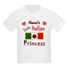 Nana's Little Princess-Red-1 T-Shirt