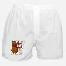 Eat Turkey Boxer Shorts
