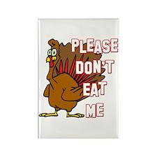 Eat Turkey Rectangle Magnet