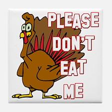 Eat Turkey Tile Coaster