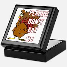 Eat Turkey Keepsake Box