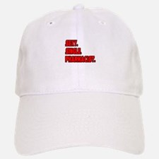 """Sexy. Single. Pharmacist."" Baseball Baseball Cap"
