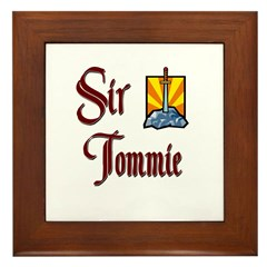Sir Tommie Framed Tile