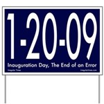 1-20-09 Inauguration Yard Sign