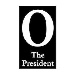 O: The President bumper sticker