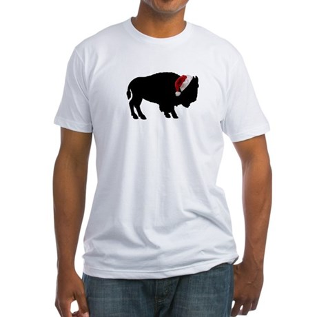 Buffalo Christmas Fitted T-Shirt
