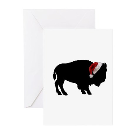 Buffalo Christmas Greeting Cards (Pk of 10)
