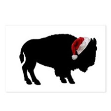Buffalo Christmas Postcards (Package of 8)