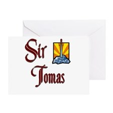 Sir Tomas Greeting Card