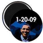 1-20-09 Obama Magnet
