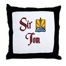 Sir Tom Throw Pillow