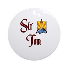 Sir Tom Ornament (Round)