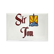 Sir Tom Rectangle Magnet