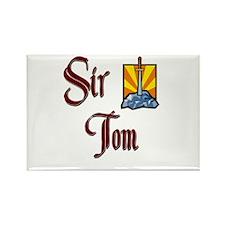 Sir Tom Rectangle Magnet (10 pack)