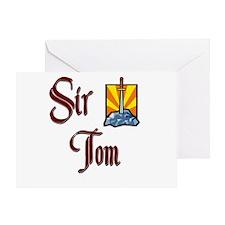 Sir Tom Greeting Card
