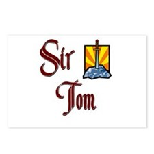 Sir Tom Postcards (Package of 8)