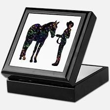 Halter/Showmanship Floral Keepsake Box