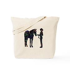 Halter/Showmanship Floral Tote Bag