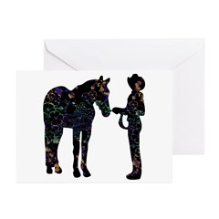Halter/Showmanship Floral Greeting Cards (Pk of 20