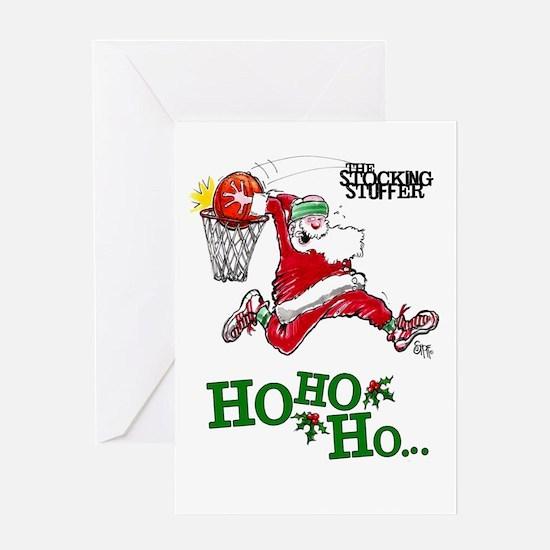 Hoops Holiday Mojo Greeting Card