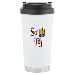 Sir Toby Stainless Steel Travel Mug