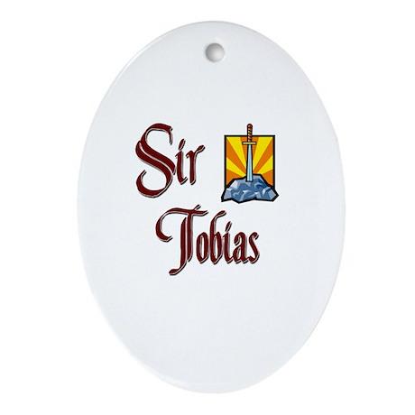 Sir Tobias Oval Ornament