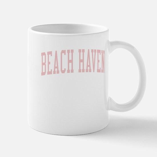 Beach Haven New Jersey NJ Pink Mug