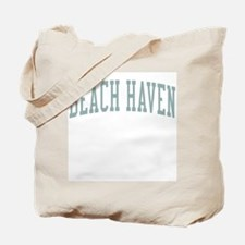 Beach Haven New Jersey NJ Green Tote Bag