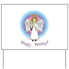 Holiday Angel Yard Sign