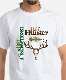 Half Fisherman. Half Hunter. Shirt