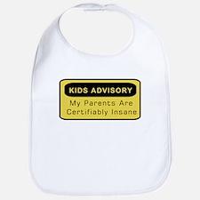 Kids Advisory Bib