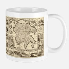 Ancient Greece Map Mug
