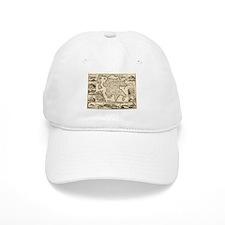 Ancient Greece Map Baseball Cap