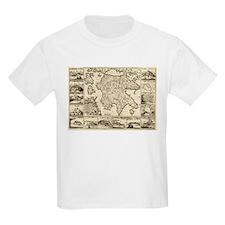 Ancient Greece Map T-Shirt
