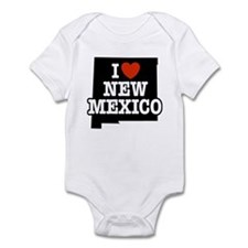 I Love New Mexico Infant Creeper
