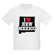 I Love New Mexico Kids T-Shirt