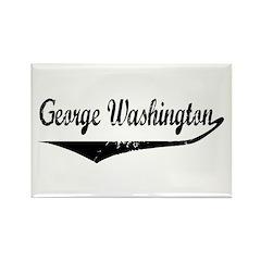 George Washington Rectangle Magnet