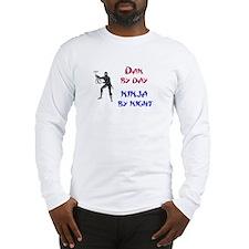 Dan - Ninja by Night Long Sleeve T-Shirt