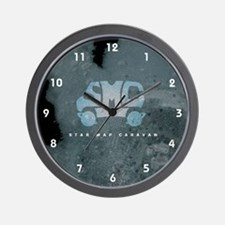 SMC Self-Titled Album Cover Wall Clock